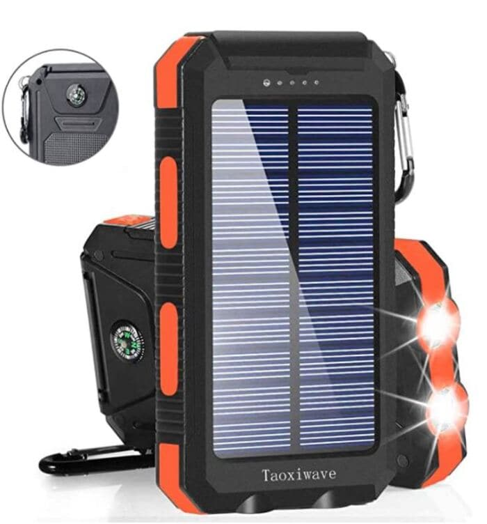 Gifts for nature lovers - Solar Charger
