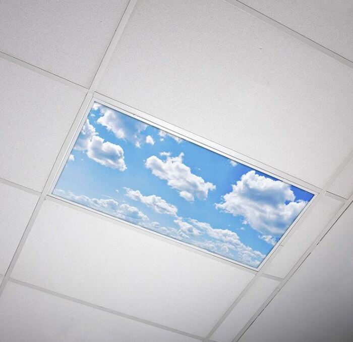 Gifts for nature lovers - Sky Image Fluorescent Light Covers