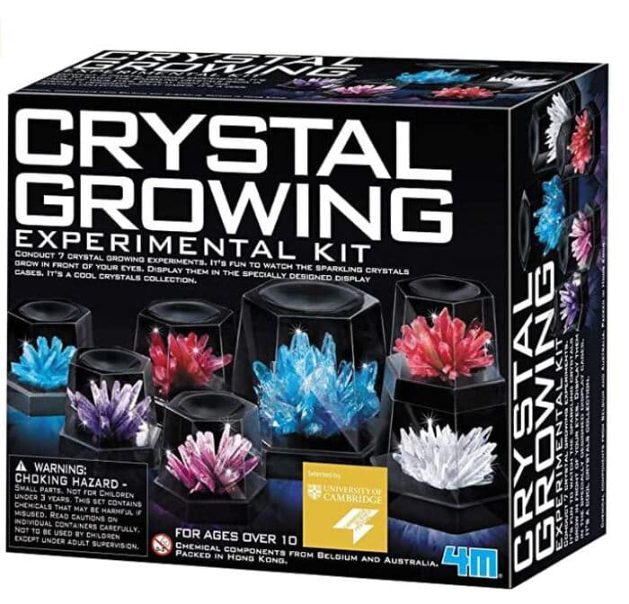 Gifts for nature lovers - Crystal Growing Kit