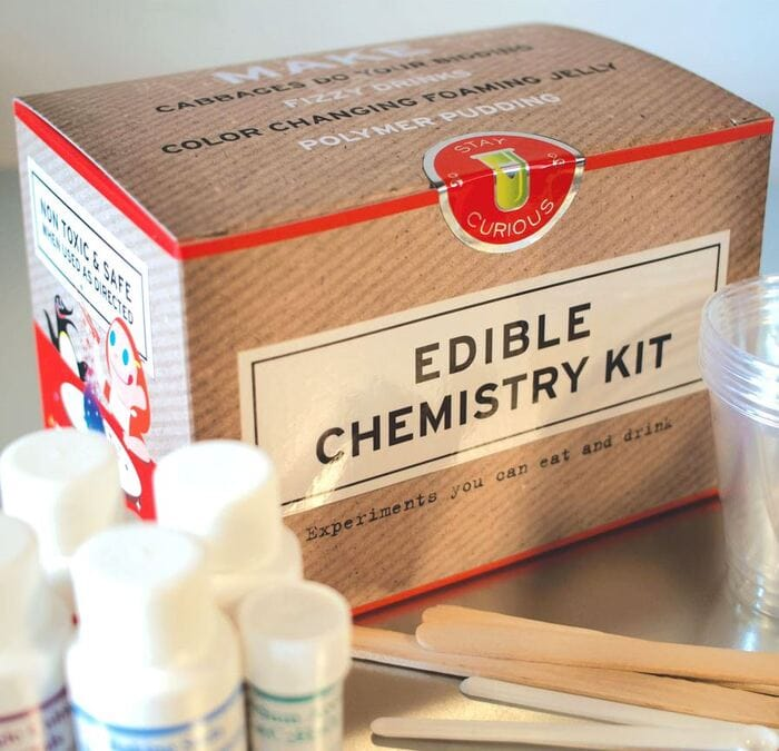 Gifts for nature lovers - Edible chemistry set