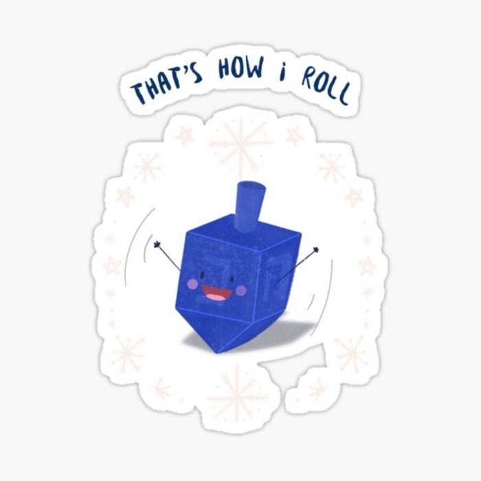 Hanukkah Puns - That's how I roll