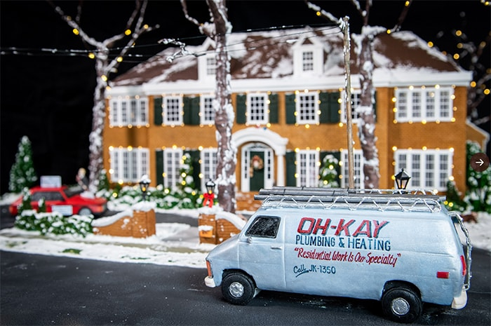 Home Alone House Gingerbread - Oh Kay Van for Marv Harry