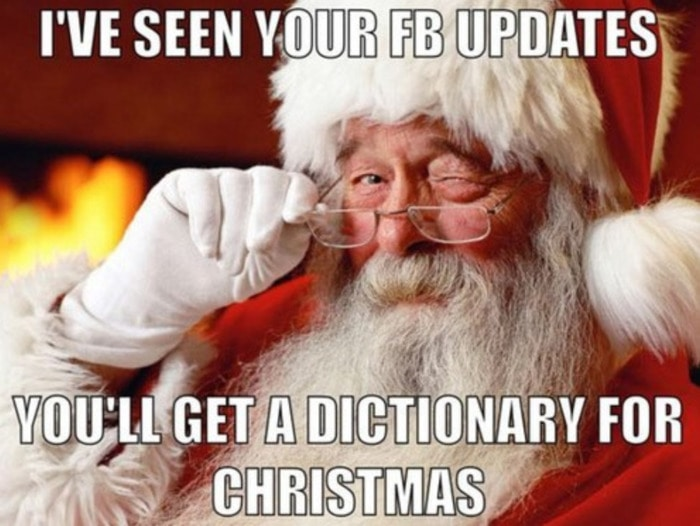 Santa Dictionary for Christmas