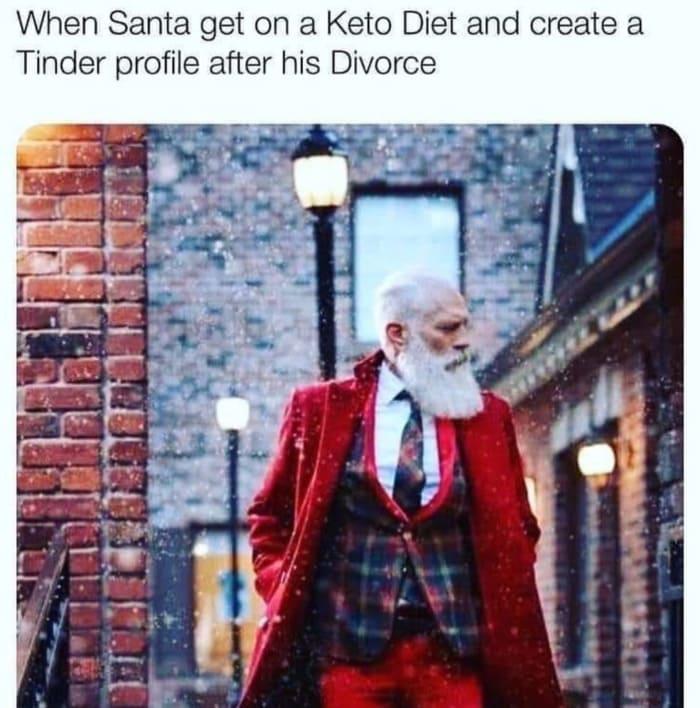 Santa Memes - Tinder