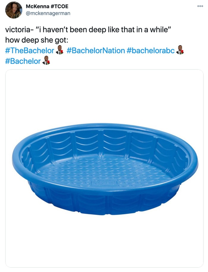 The Bachelor Tweets - pool
