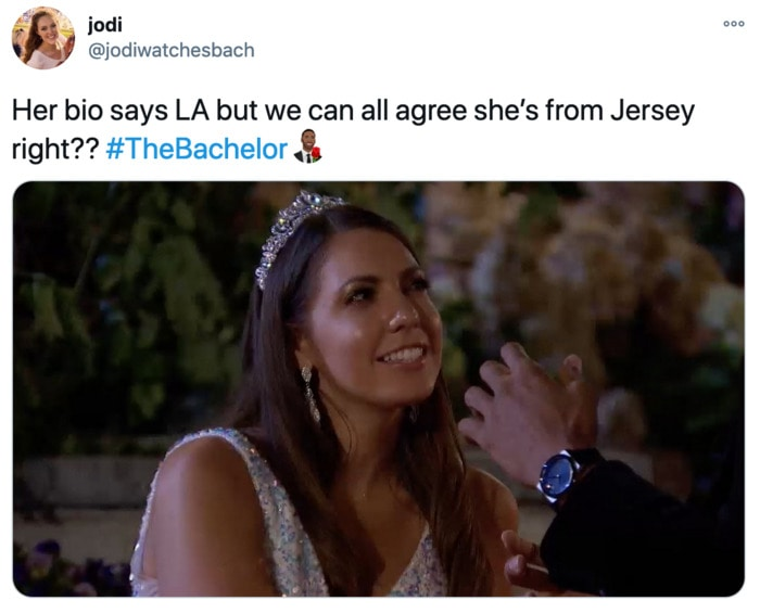 The Bachelor Tweets - Victoria Jersey