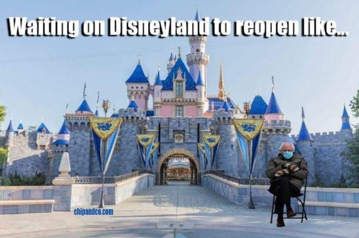 Bernie Sitting Memes - Disney