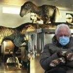 Bernie Sitting Memes - Dinosaurs
