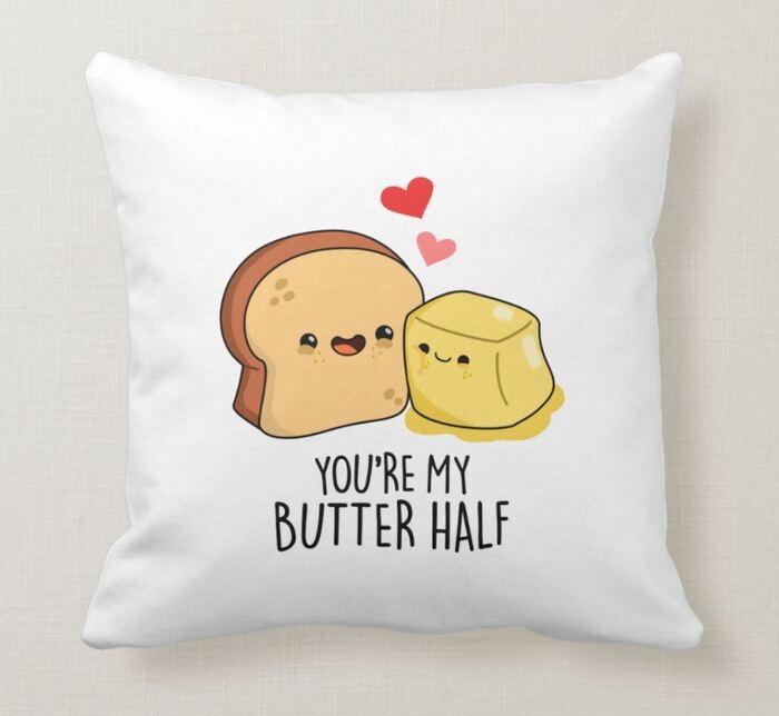 Breakfast puns - You're my butter half