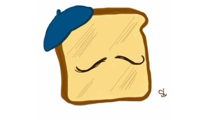 Breakfast puns - Beret bread French bread