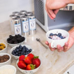 ColdSnap Ice Cream Maker - toppings