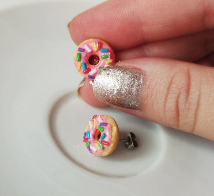Donut Gift Ideas - Donut Earrings
