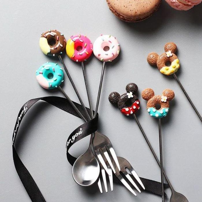 Donut Gift Ideas - Donut Forks