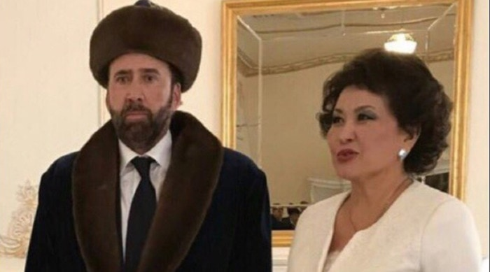 Nicolas Cage Outfits - Furry Hat