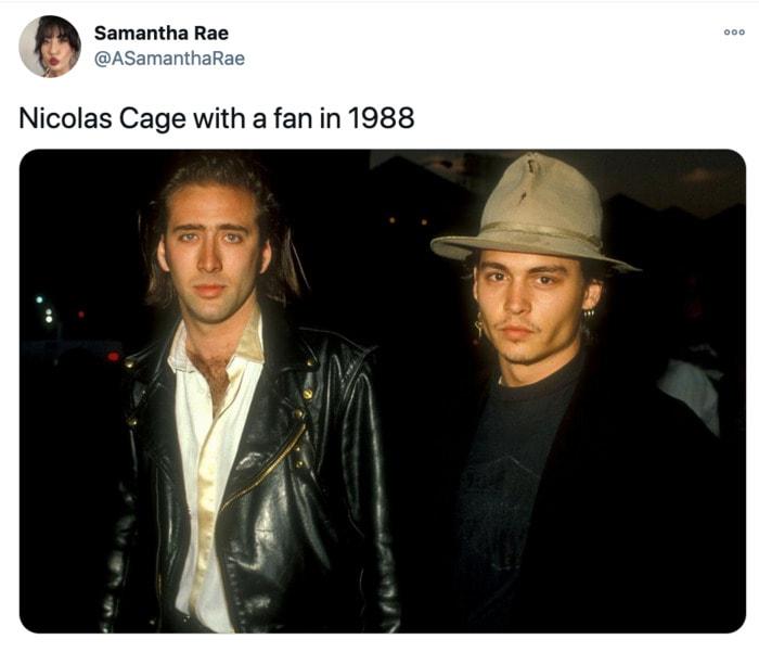 Nicolas Cage Outfits - Johnny Depp