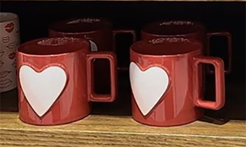 Starbucks Valentine Cups 2021 - Red Mug with Heart