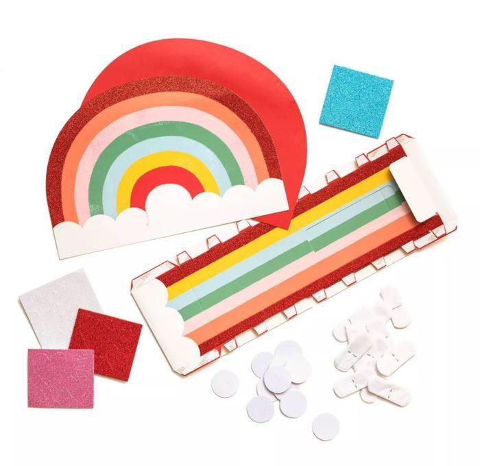 Target Valentines day - Rainbow Valentine's Mailbox Kit