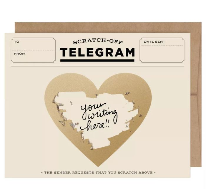 Target Valentines Day - Scratch-Off Telegrams