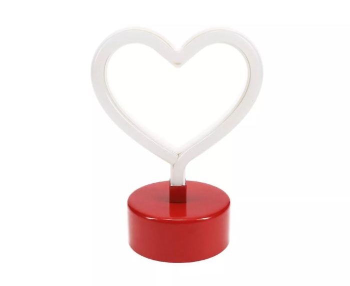 Target Valentines Day - Heart-Shaped Neon Light