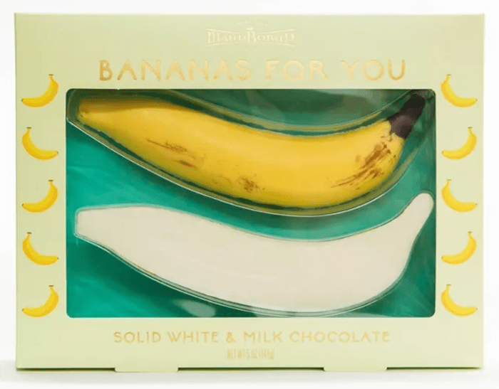 Target Valentines Day - Chocolate Bananas
