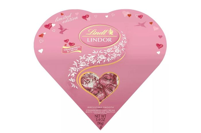 Target Valentines day - Strawberries and cream heart chocolates