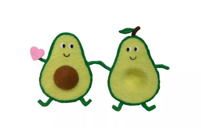 Target Valentines day - Felt Valentine's Avocado