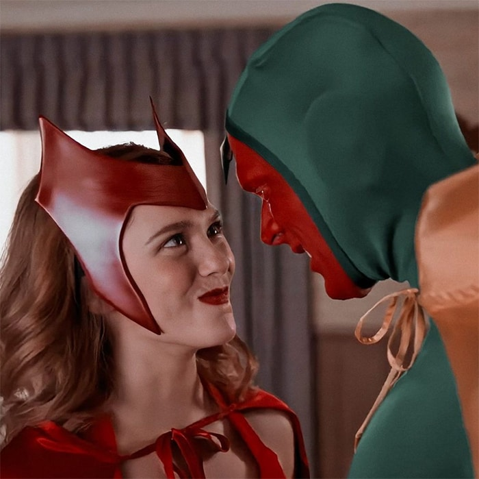 WandaVision Facts and Triva - Scarlet Witch and Vision