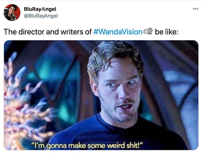 WandaVision Facts and Triva - Chris Pratt weird