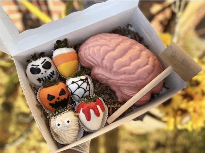 Breakable Chocolate Hearts - Brain