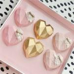 Breakable Chocolate Hearts - Mini Pink Valentine