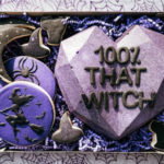 Breakable Chocolate Hearts - Purple Witch