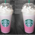 starbucks valentines day drinks - pink ombre frappuccino