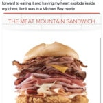 Arby's Mountain Meat Sandwich Funny Tweets - Michael Bay