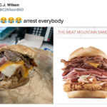 Arby's Mountain Meat Sandwich Funny Tweets - Comparison