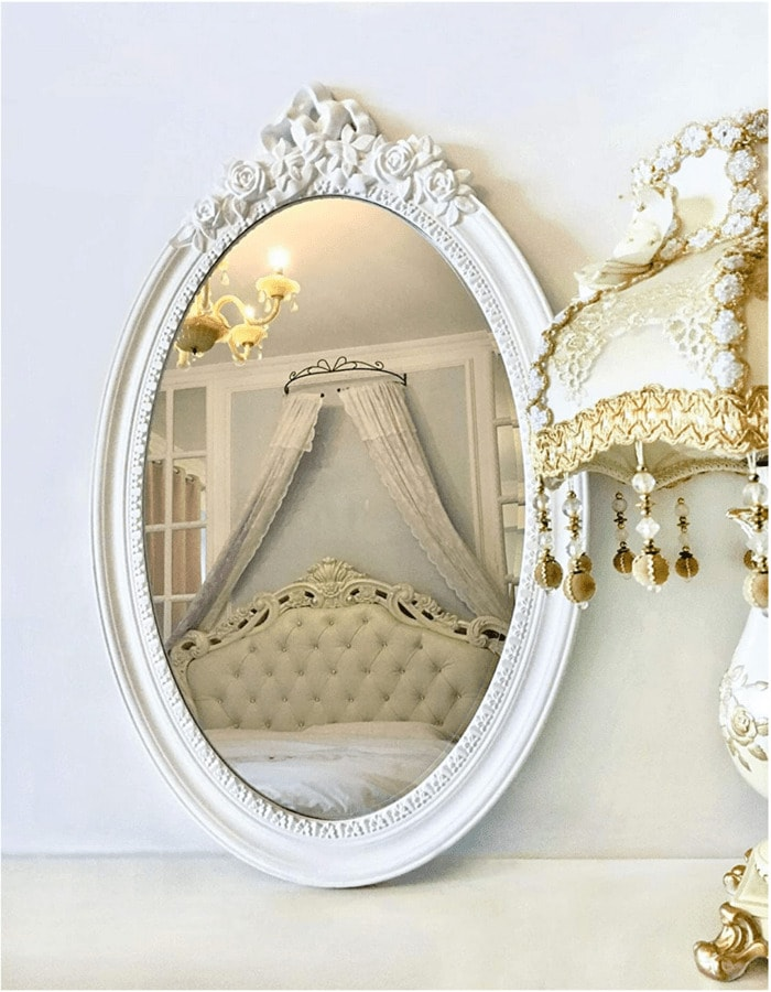 Regencycore Gift Guide - Oval Vintage Mirror