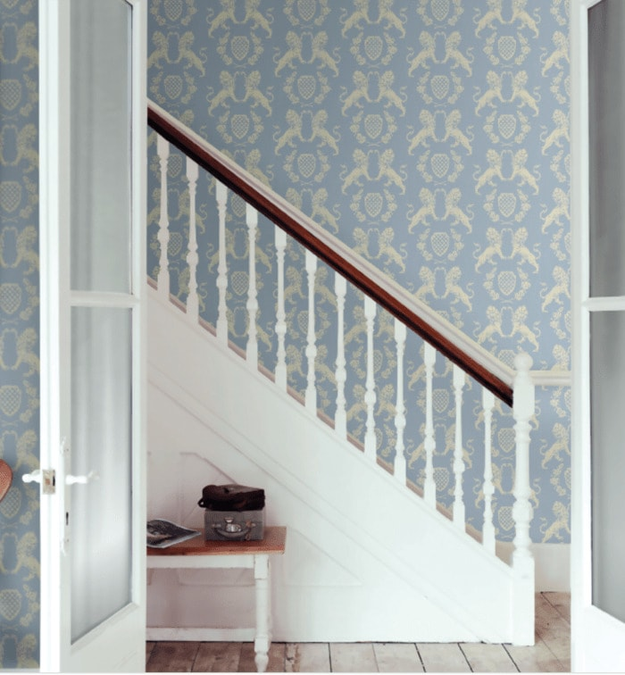 Regencycore Gift Guide - Wedgwood Wallpaper