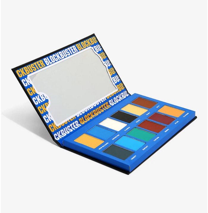 Blockbuster eyeshadow palette - hot topic palette