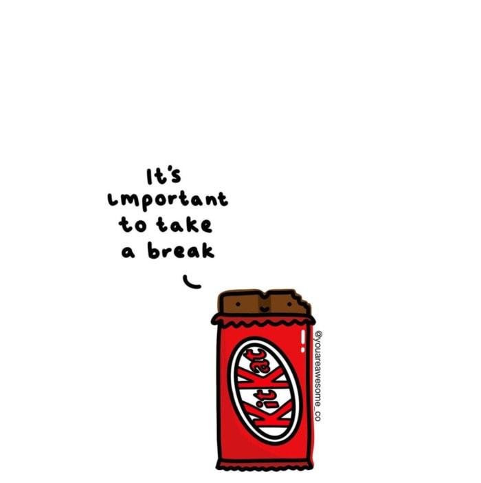 Chocolate Puns - take a break
