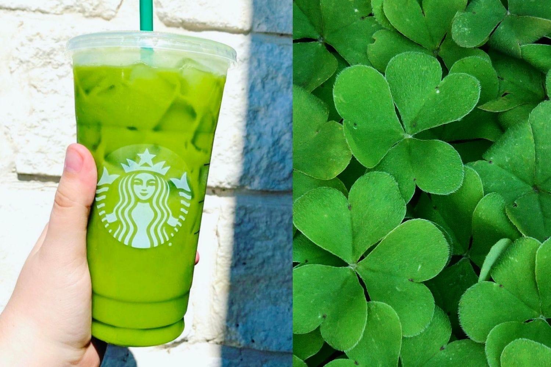 Starbucks Shamrock Tea - St Patricks Day drink