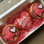 Valentine's Day Donuts - Love is Among Us donuts