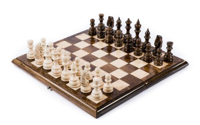 Valentines Day Gifts - personalized chess set