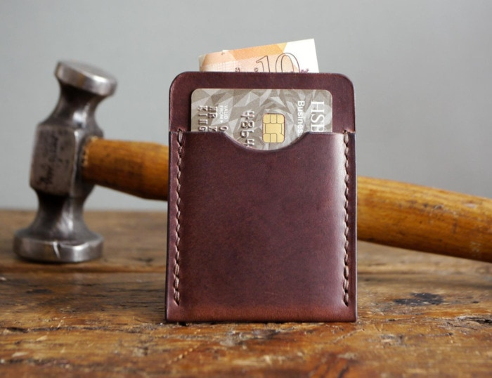 Valentines Day Gifts - leather card holder
