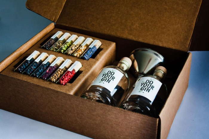 Valentines Day Gifts - DIY gin making kit