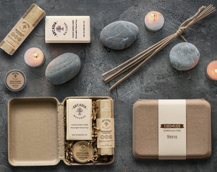Valentines Day Gifts - personalized self care box