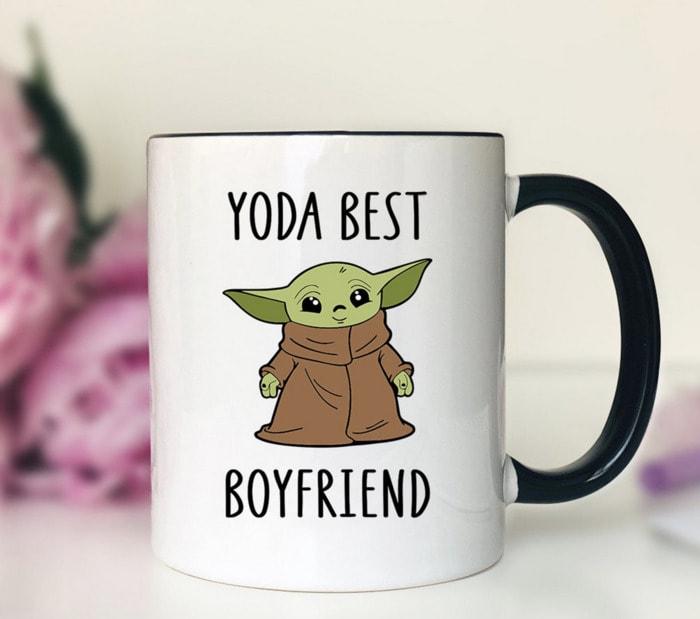 Valentines Day Gifts - Yoda Best Boyfriend mug