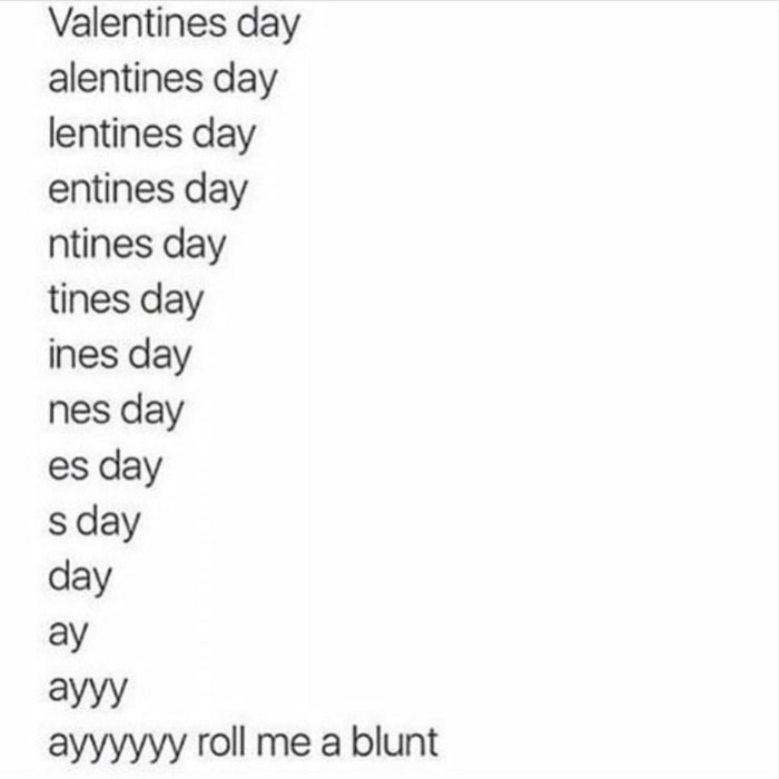 Valentines Day Memes - roll me one