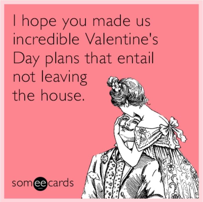 Valentines Day Memes - homebody