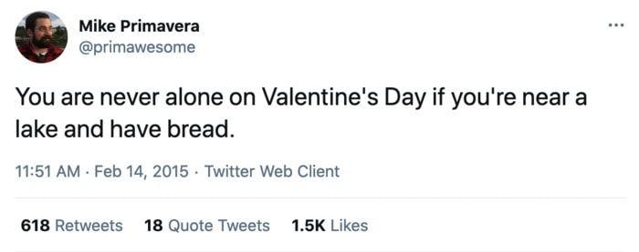 Valentines Day Memes - lake and bread