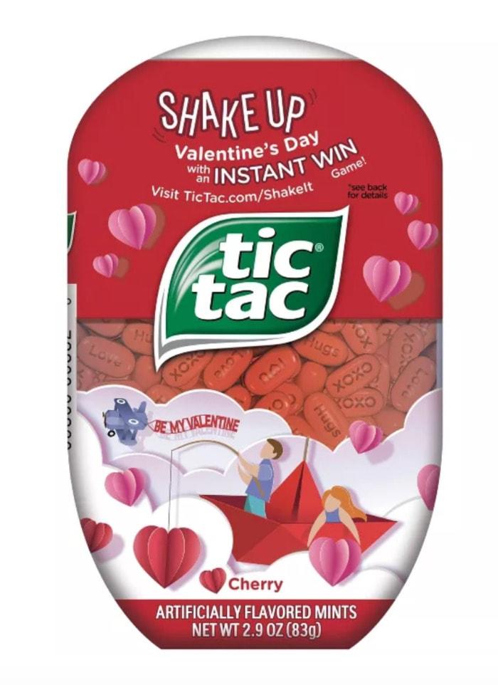 Valentines Day Snacks - cherry mints