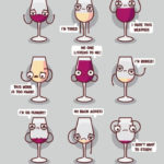 Wine Puns - whine glasses